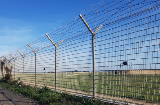 75 km airports_Fiumicino fence 600pxl