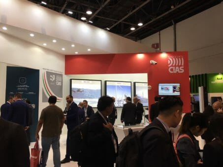 Cias Stand at Intersec 2018